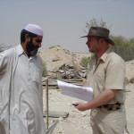 Onsite Construction Visit - 2008 (Mr. Mohd Shah and Dr. Hammer)