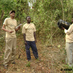 Prince Ruspoli's Turaco Research Team in Ethiopia